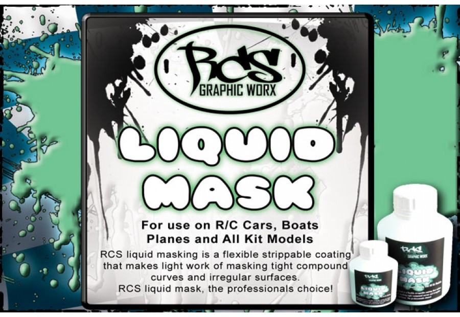 RCS Graphic Worx Liquid Mask -  2kg / 64oz / 2000ml