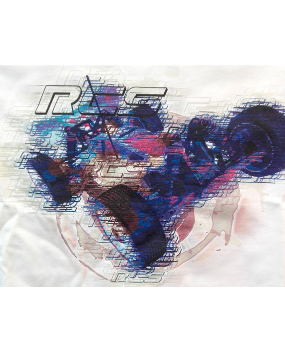 Limited Edition RC Tee - Trace BluePink