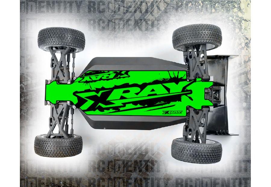 CHASSIS SKINS NEON  - Grunge Logo