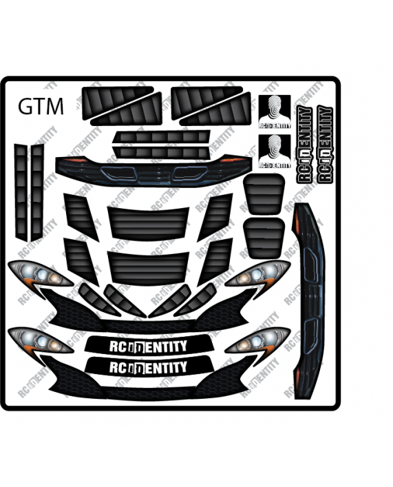 Headlight Stickers - GTM